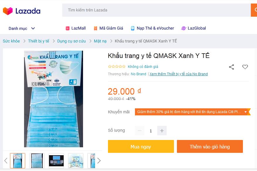 Khẩu trang y tế Qmask
